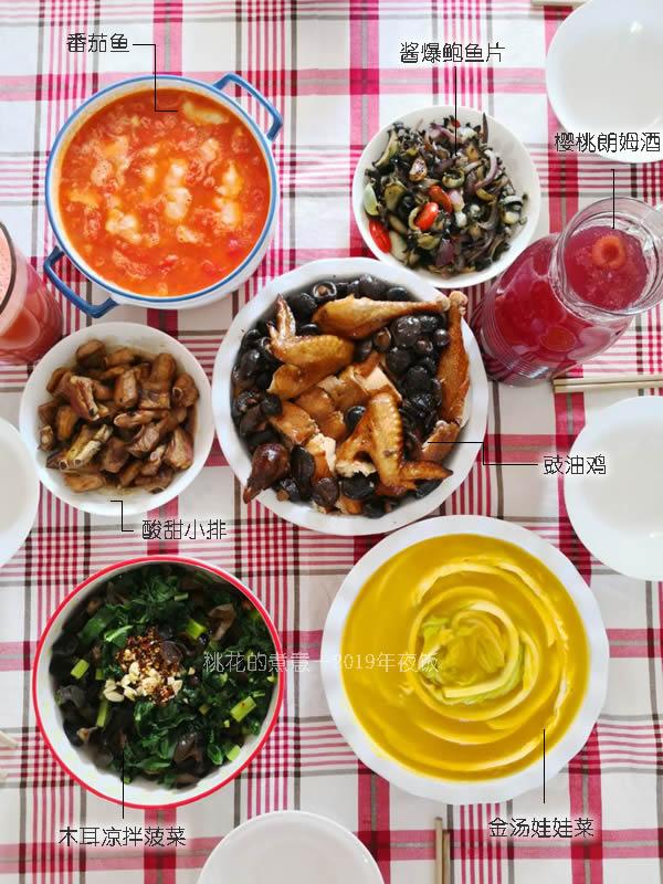 2019年春节年夜饭